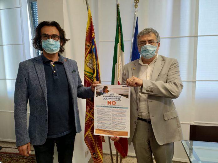Manuel Scalzotto con Maurizio Zumerle di Casa Cattolica