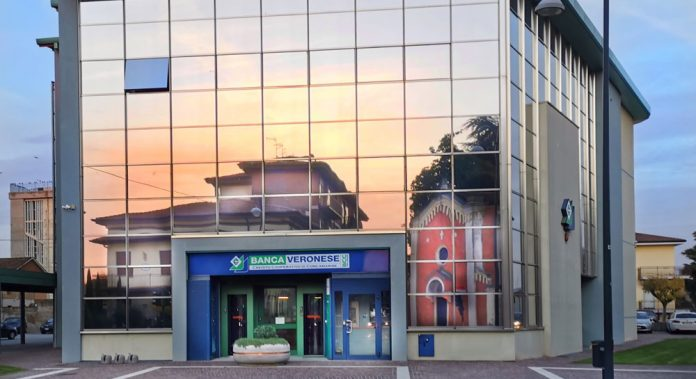 La sede di Banca Veronese