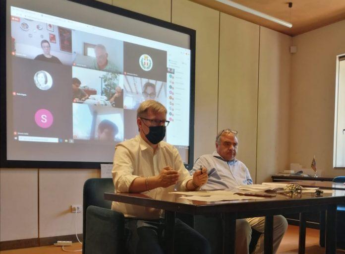 Bottacin in riunione del CIS (Comitato di Indirizzo e Sorveglianza)