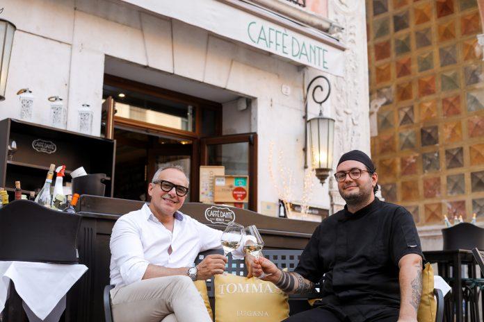Tommasi Caffè Dante Gianpaolo Spinelli e Mattia Meneghello