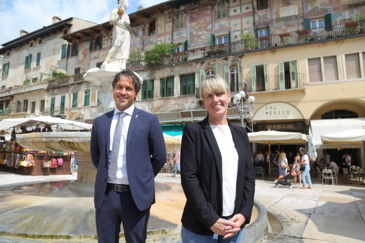 Marco Andreoli con Elisa De Berti