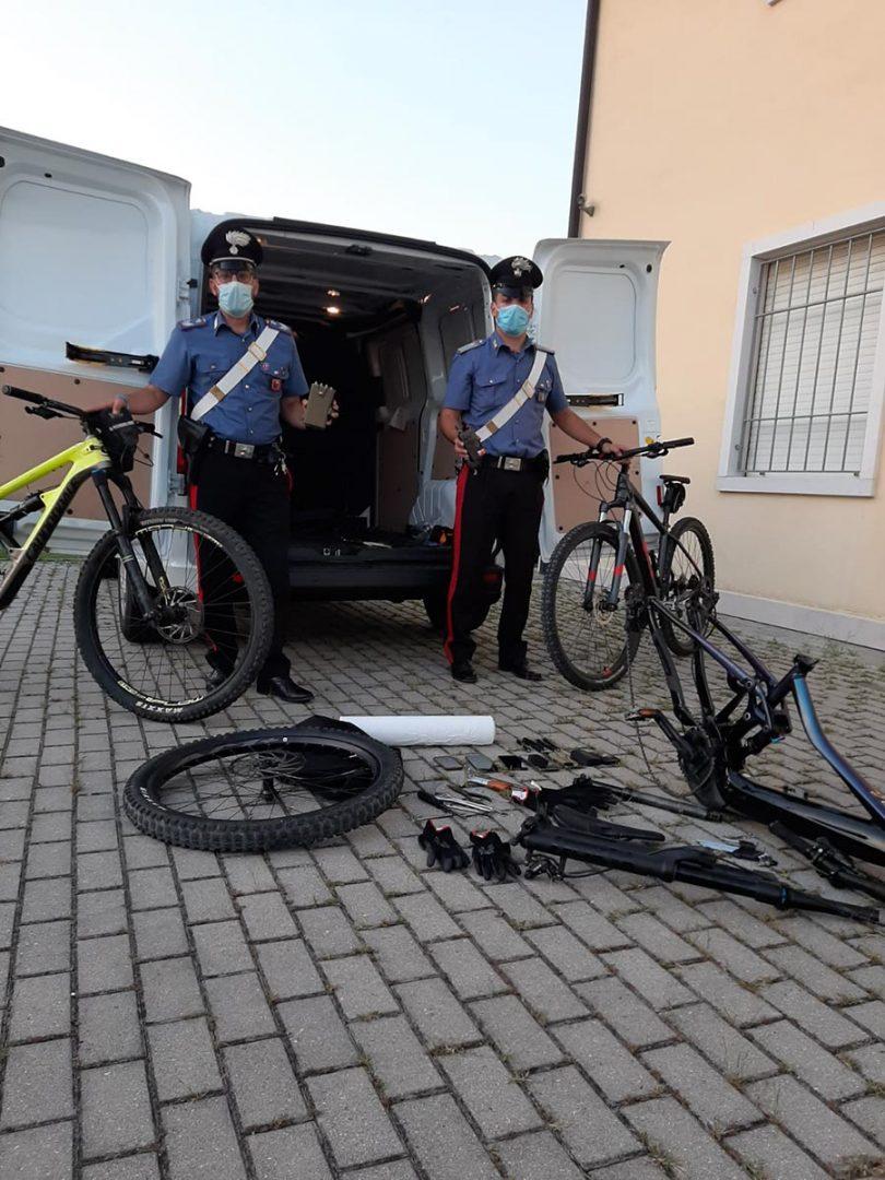 ladri bici lago di garda