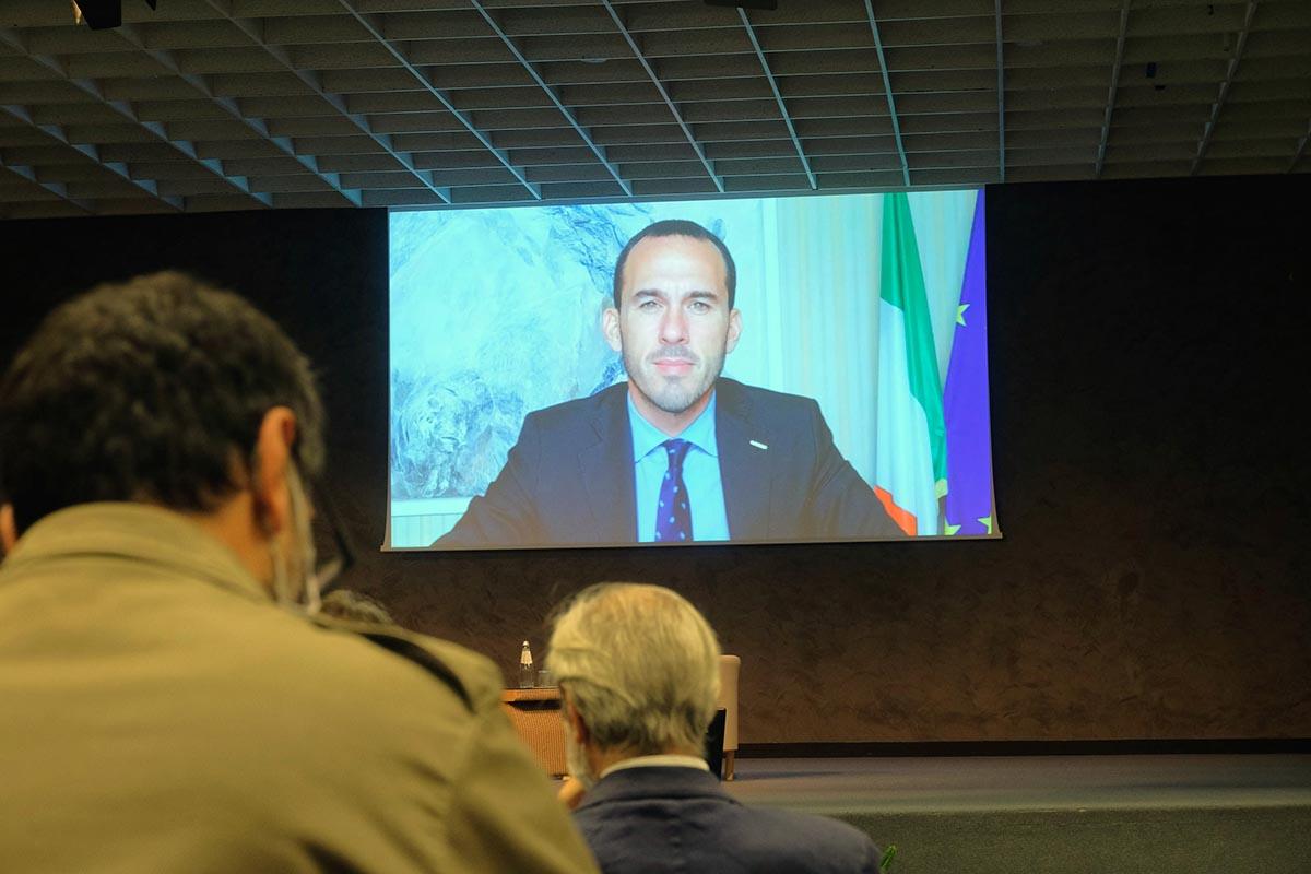 Manlio Di Stefano, sottosegretario di Stato al ministero degli Affari esteri e delle Cooperazione internazionale