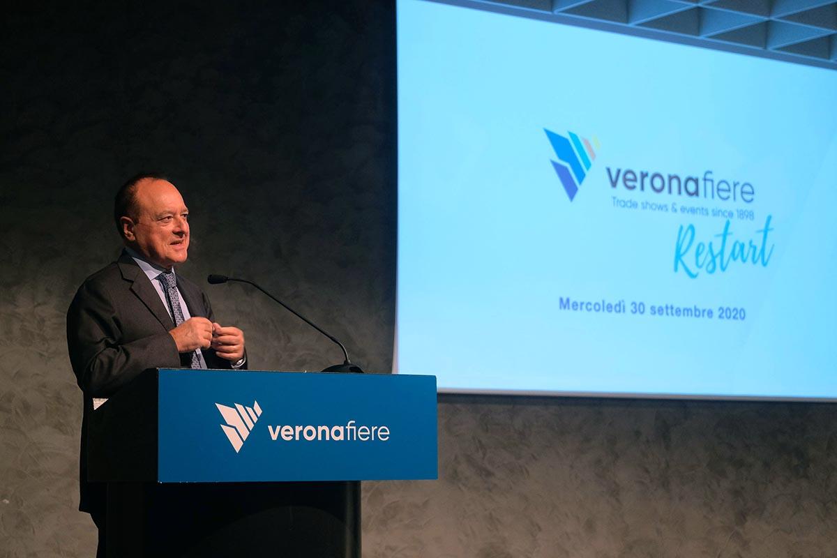 Giovanni Mantovani, direttore generale Veronafiere fiera di verona