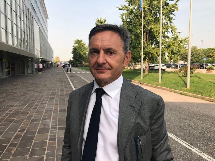 Il sindaco di Bosco Chiesanuova Claudio Melotti.