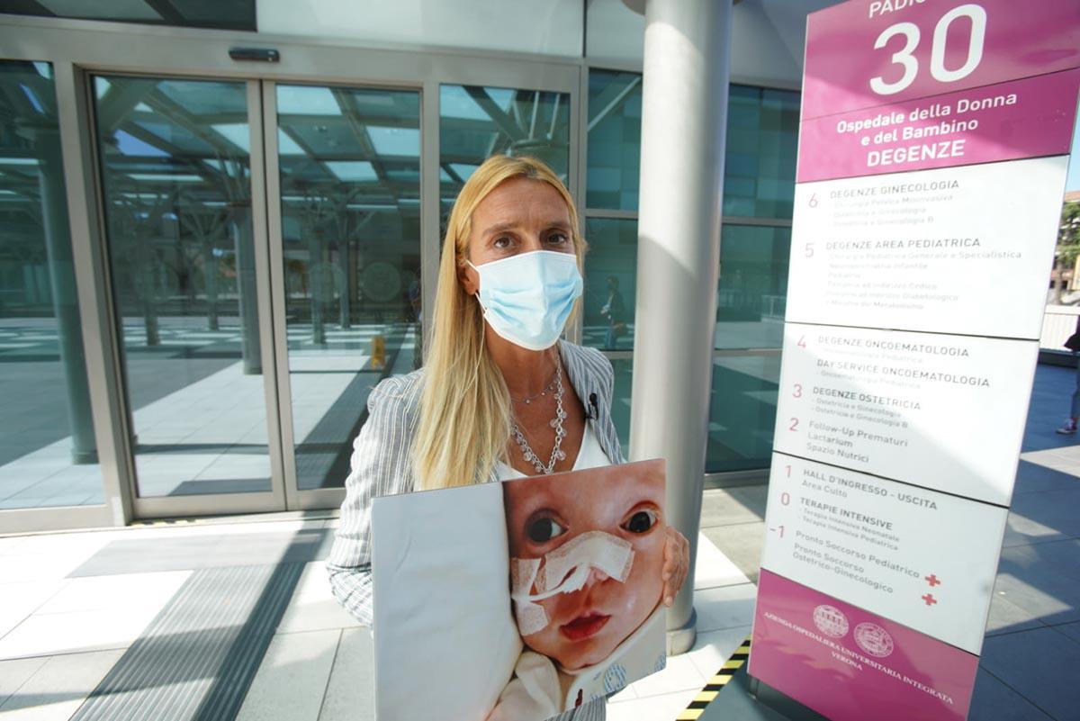 Francesca Frezza, la mamma di Nina, uno dei quattro neonati morti per citrobacter