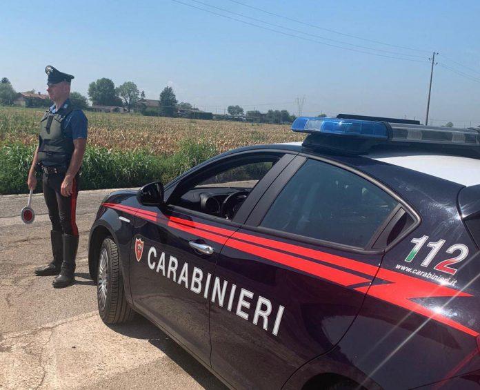 carabinieri incidente mozzecane