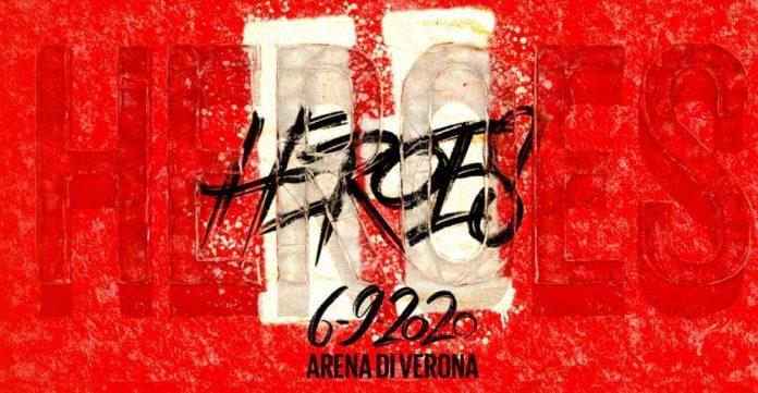 heroes arena di verona live streaming