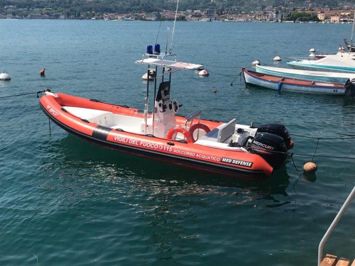 Incidente Lago di Garda uomo annegato