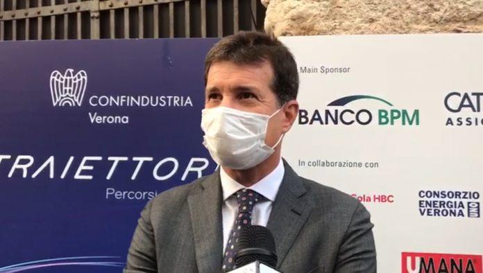 Michele Bauli, presidente di Confindustria Verona.