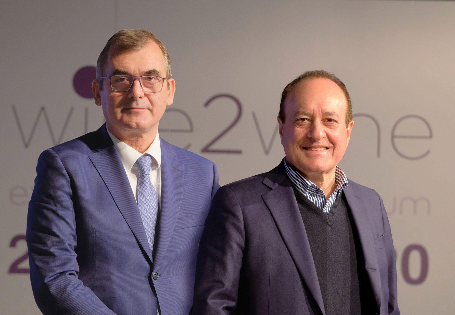 Da sinistra, il presidente Maurizio Danese e il direttore generale Giovanni Mantovani.