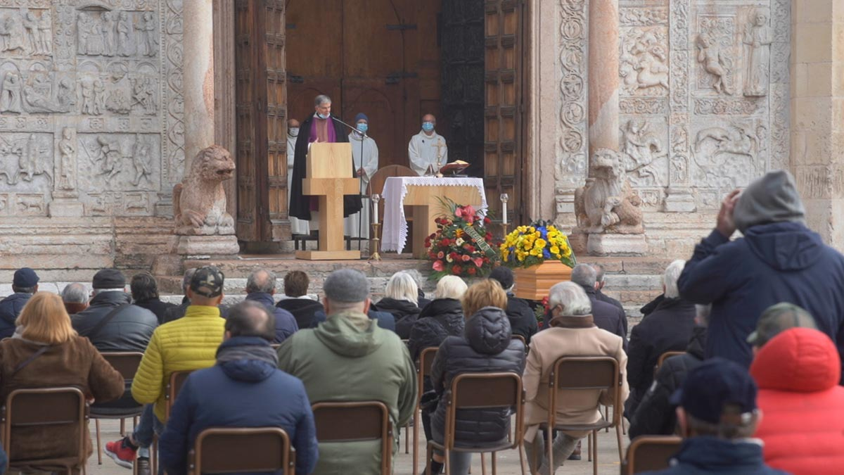 Funerale Renato dei Kings