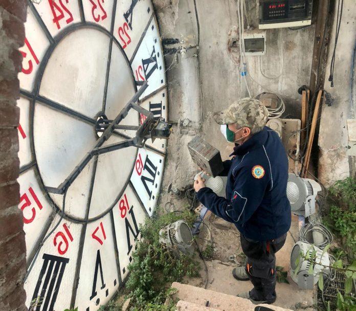 Riparazione orologio della Bra