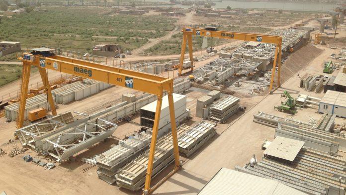 maeg costruzioni ponte Muhhmad Baquir Al-Sadr costruzioni maeg spa