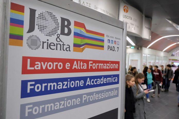 job&orienta padiglioni fiera orientamento veronafiere scuola lavoro