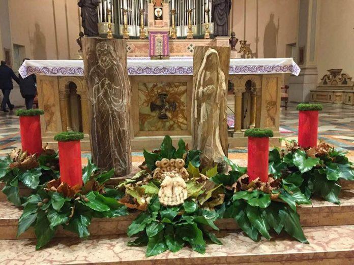 Natale - Avvento - Chiesa - Foto dalla pagina Facebook Parrocchia di Bovolone