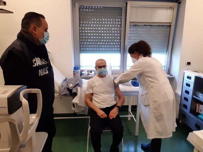 Ospedale di Villafranca-Vax Day-vaccino-vaccinazione-Paolo Montresor, DMO Magalini