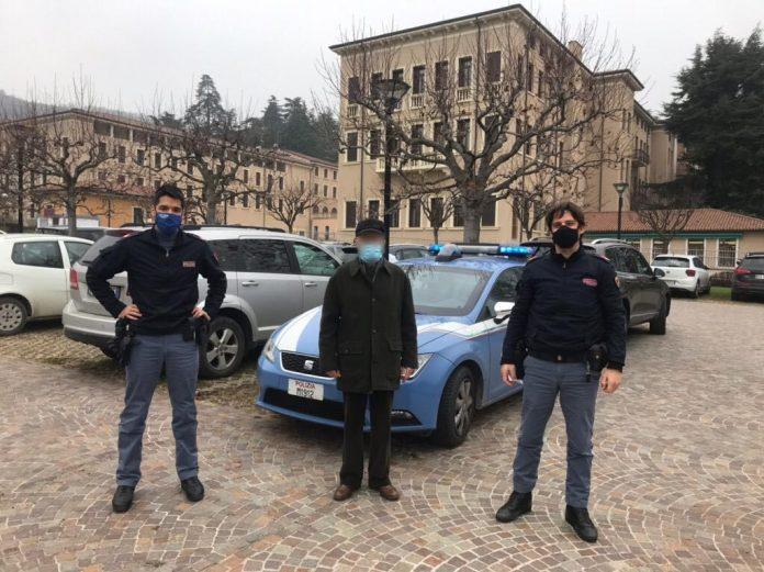 Polizia Anziano in difficoltà
