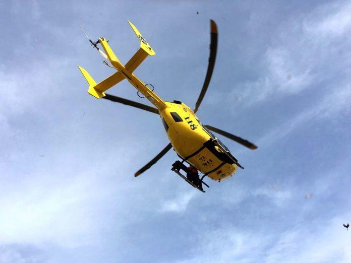 elicottero 118 eliambulanza