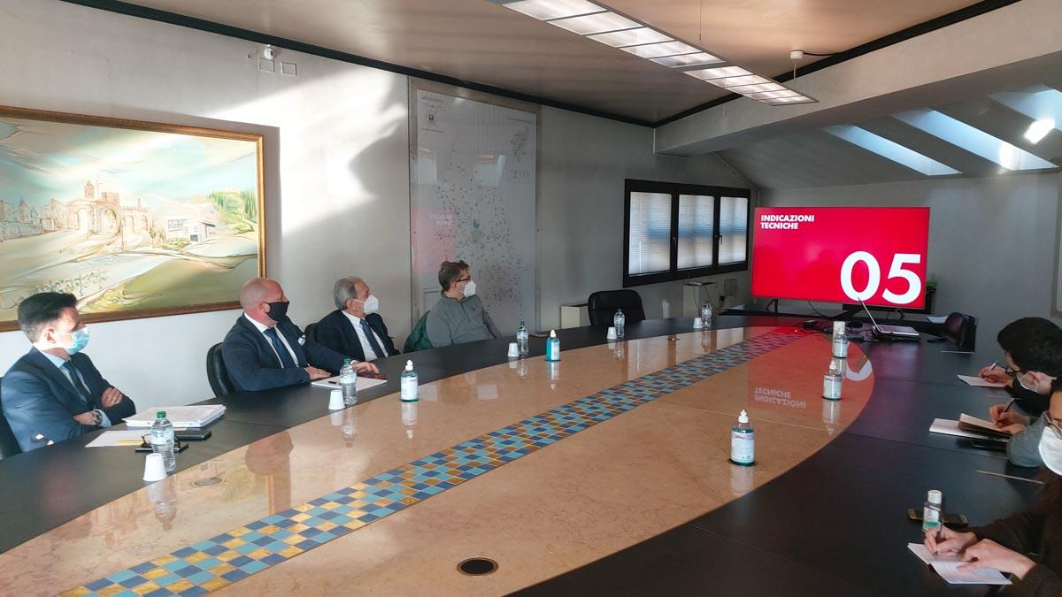 Ater - presentazione recupero edilizio via Merano