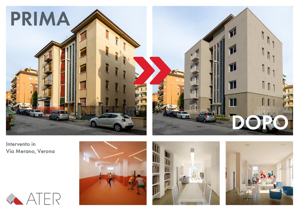 Ater recupero edilizio via Merano Ater Verona