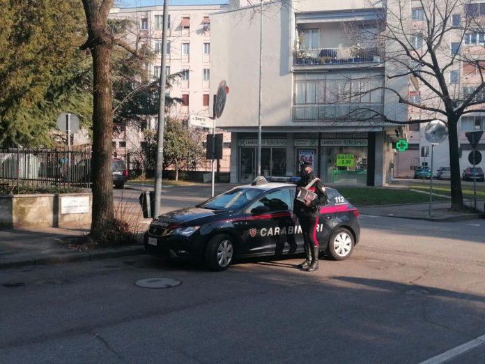 Carabinieri di Verona in via Poerio recuperata bici elettrica rubata
