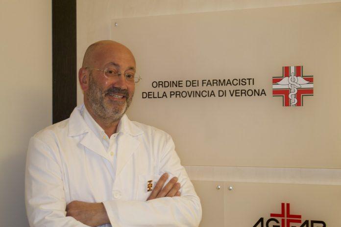 Federico Realdon, presidente dell'Ordine dei Farmacisti di Verona, commenta i test rapidi farmacie