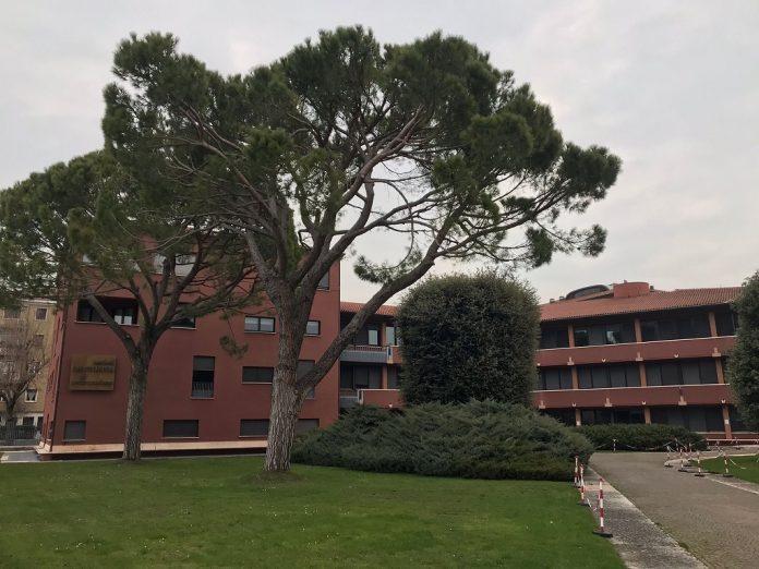 La sede di Cattolica Assicurazioni in Lungadige Cangrande