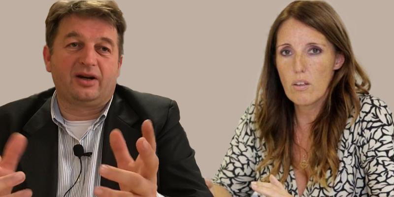 L'assessore Stefano Valdegamberi e l'assessora Elena Donazzan.