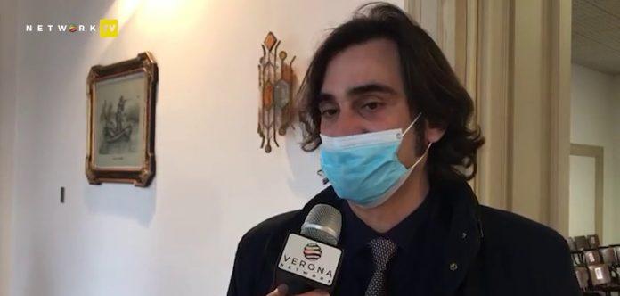 Il presidente della Provincia di Verona Manuel Scalzotto