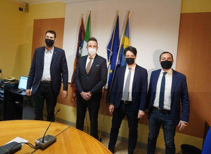 Vito Comencini, Alessandro Gennari, Alberto Stefani e Nicolò Zavarise.