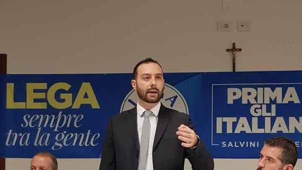 Il commissario provinciale della Lega Nicolò Zavarise