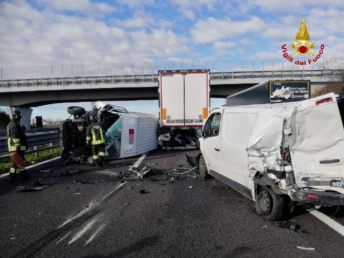 Incidente su autostrada A4 tra Soave e Verona Est