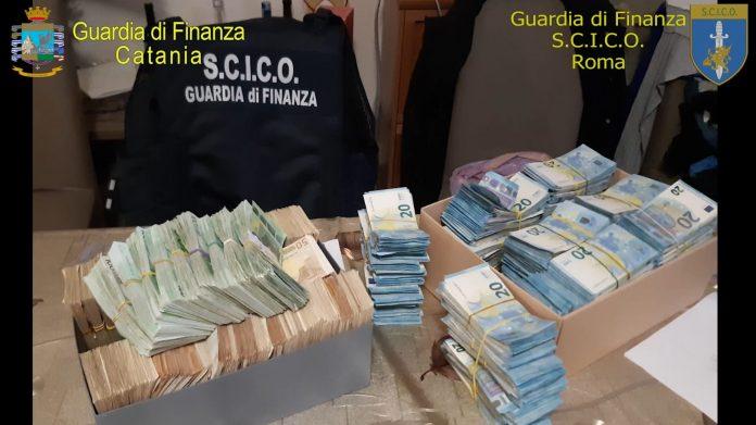 Sequestro Guardia di Finanza di Catania