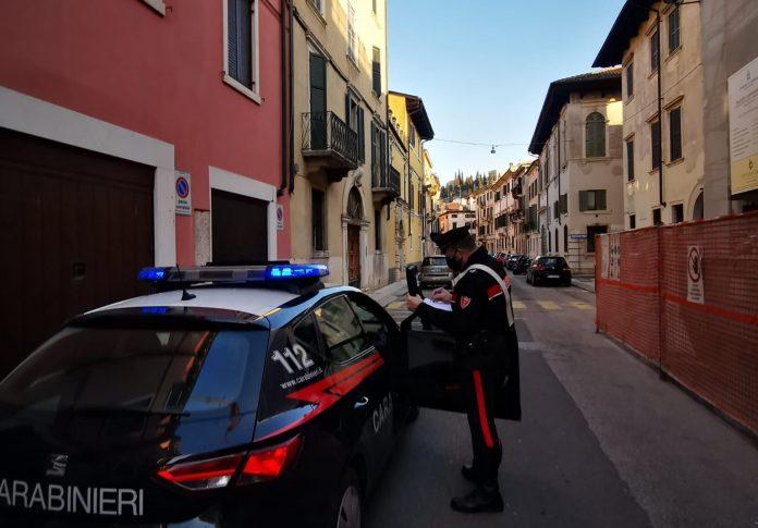 carabinieri di verona arresto sanzioni