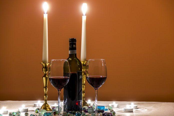 cena san valentino vino