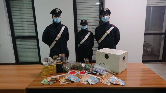 carabinieri valeggio droga