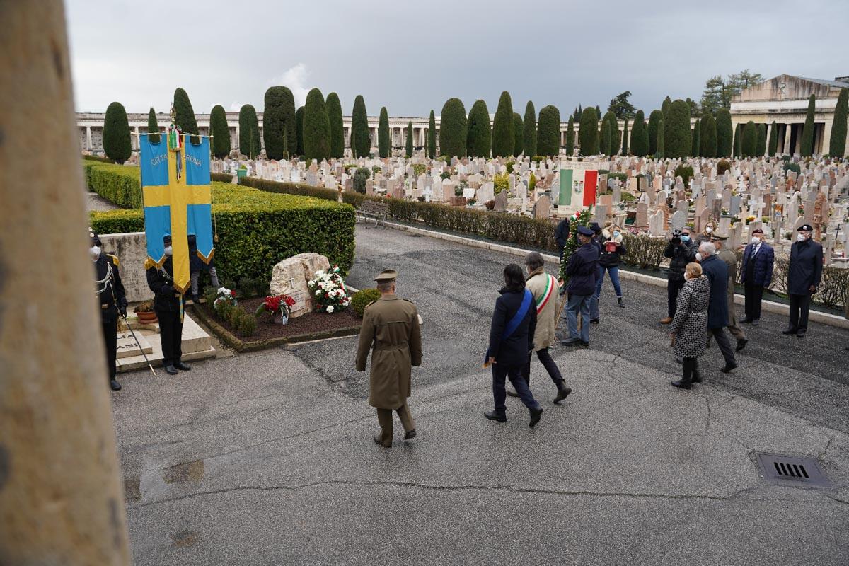 Giorno del ricordo 2021, Cimitero monumentale