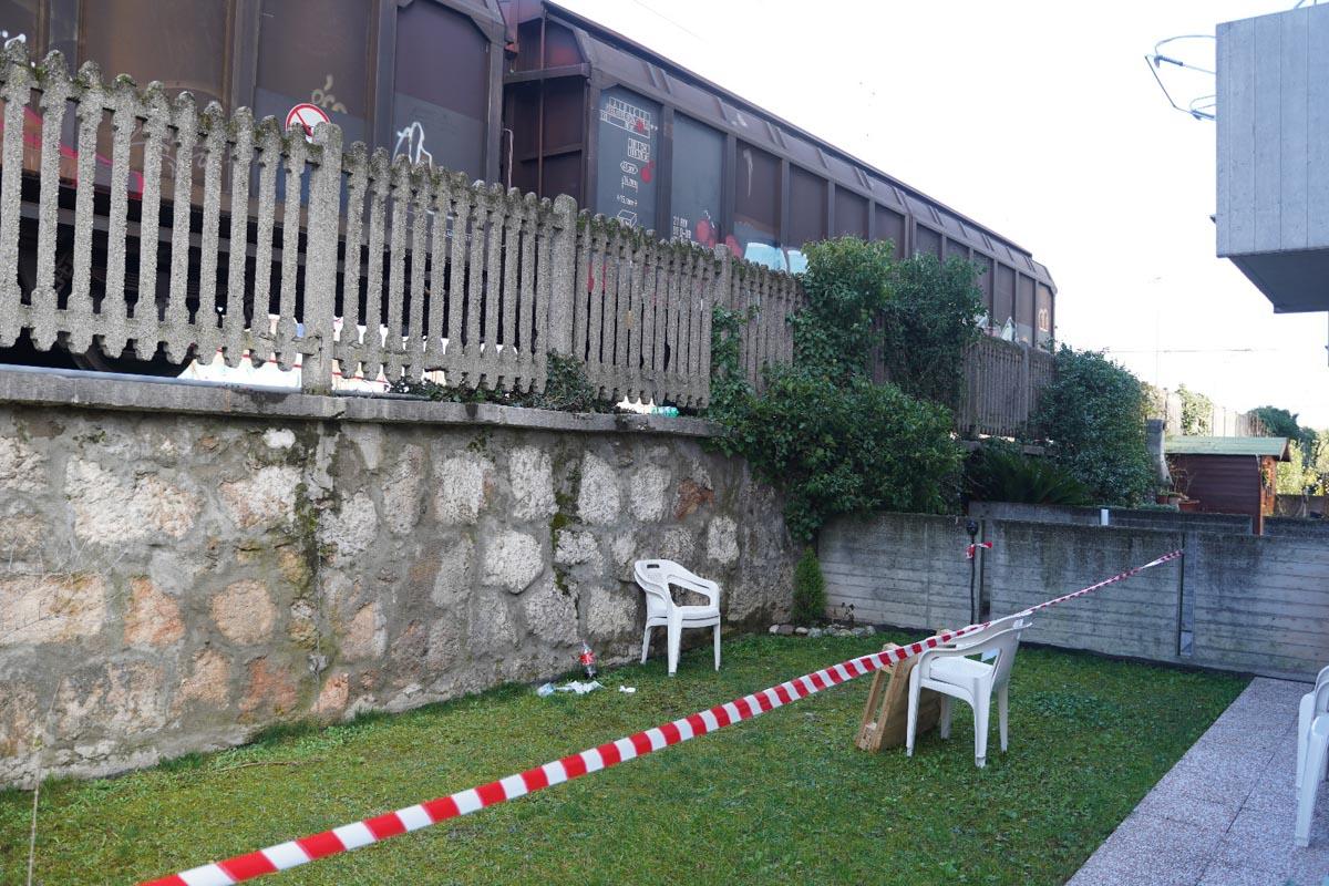 incidente treno Andrea Gresele Porto San Pancrazio