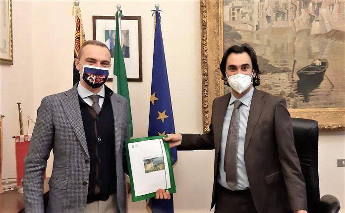 sindaco Gardoni e presidente Scalzotto