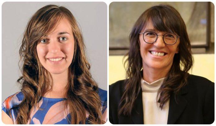 Le Consigliere regionali Cristina Guarda (EV) e Anna Maria Bigon (PD)