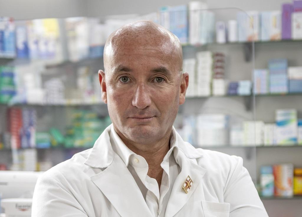 Il farmacista Gianmarco Padovani