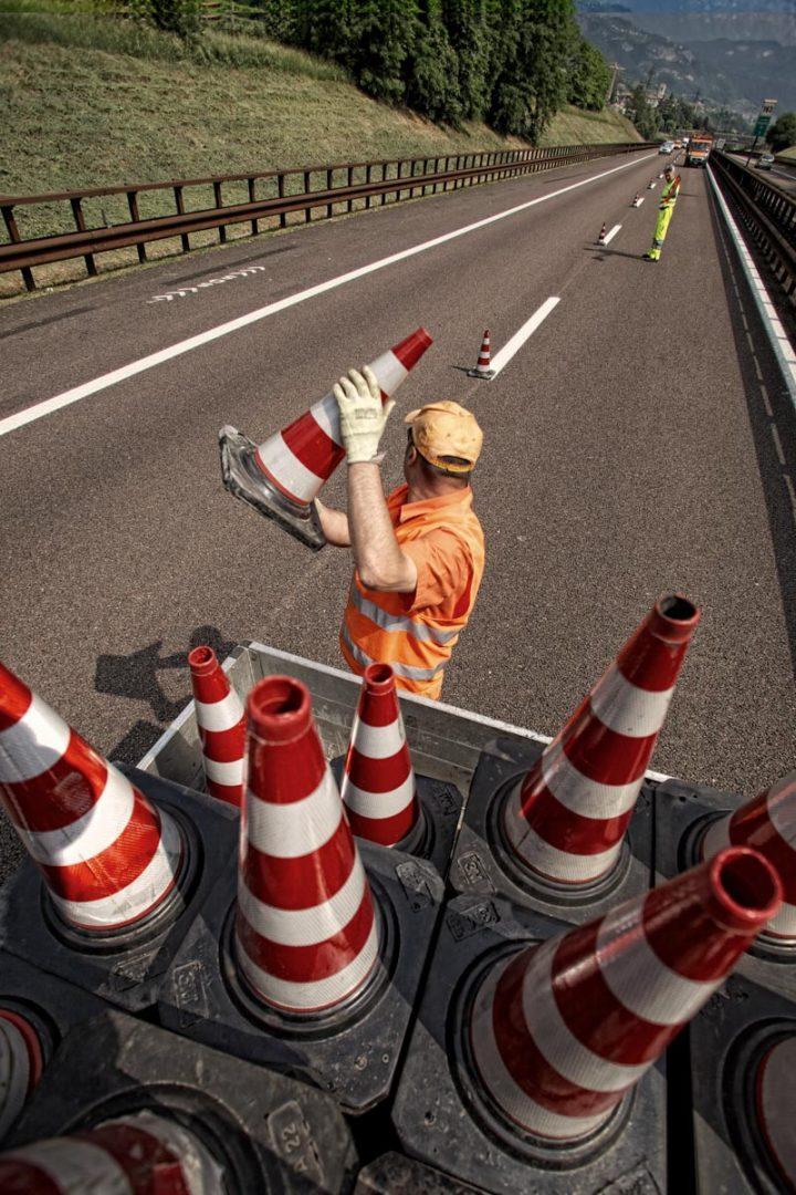 Lavori A22 - Autostrada del Brennero - AutoBrennero - manutenzione
