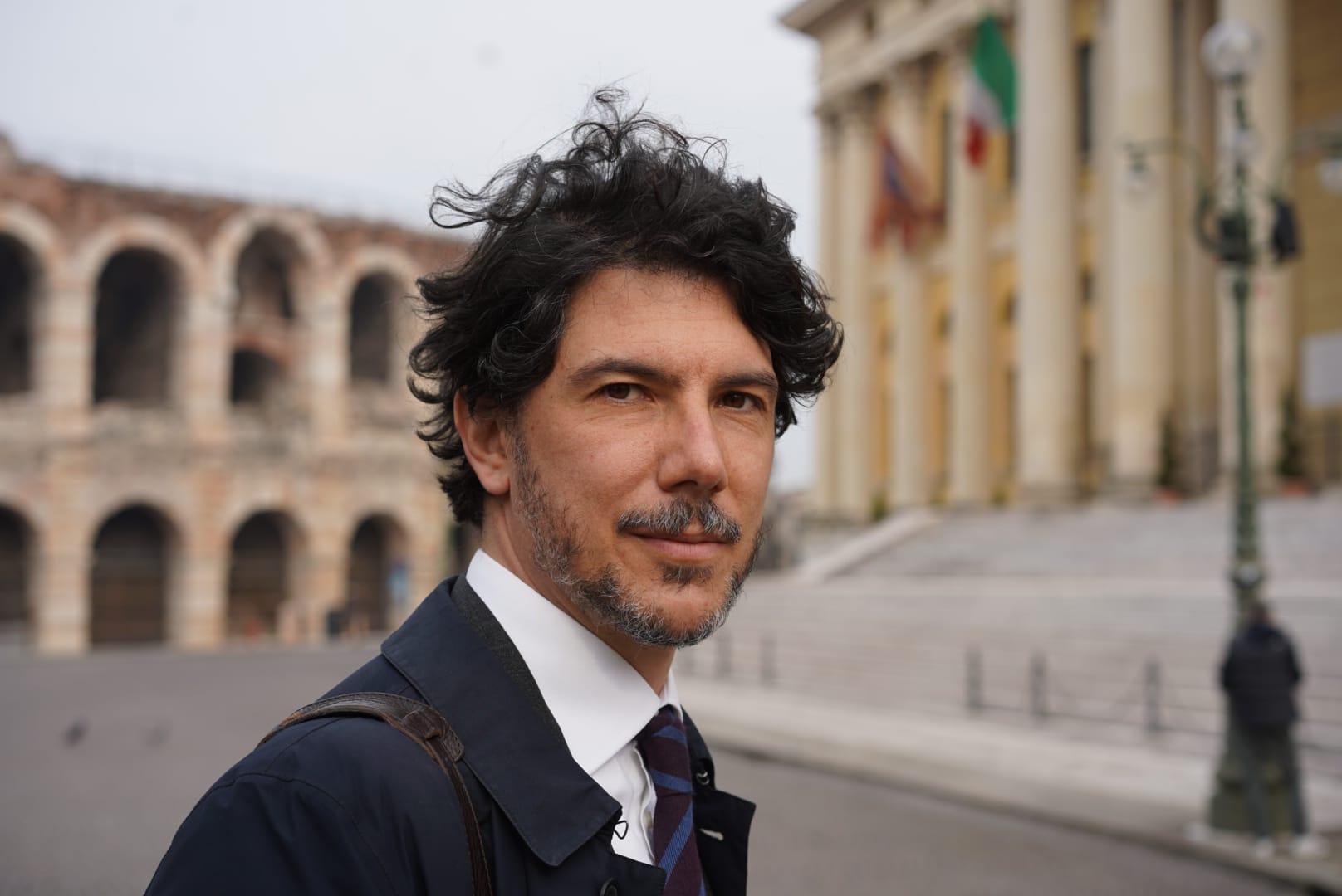 Il presidente del CdA di AGEC, Maurizio Ascione Ciccarelli