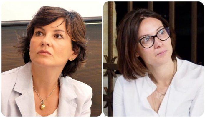 Le consigliere comunali Patrizia Bisinella ed Elisa La Paglia.