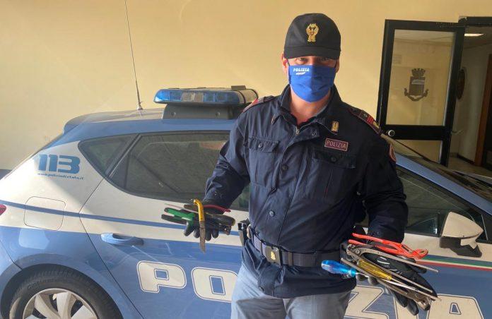 Polizia di stato - Arnesi atti allo scasso
