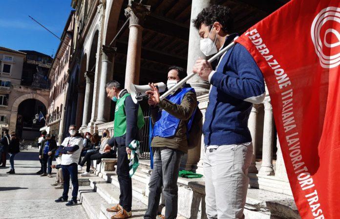 protesta sindacati aeroporto catullo verona