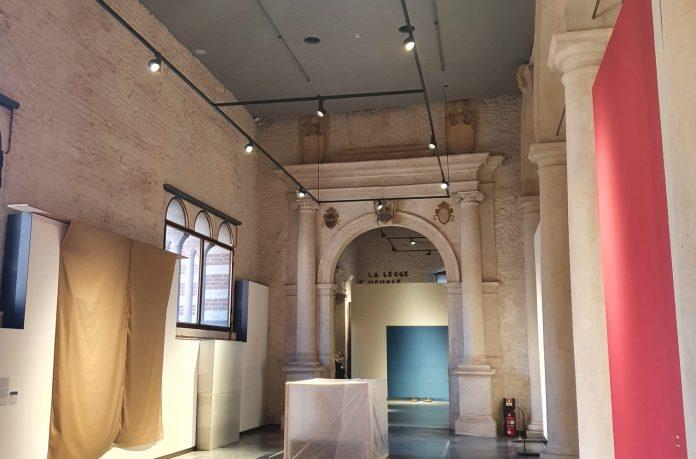 galleria d'arte moderna luci green