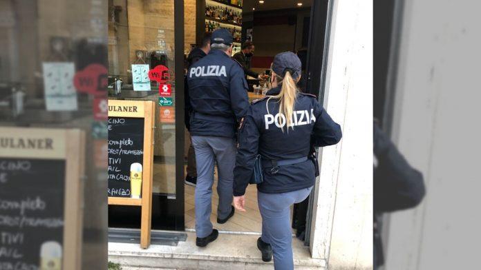 Controlli Covid a Verona Polizia di Stato