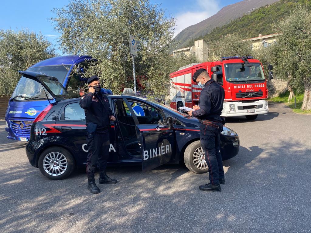 Incidente Malcesine Carabinieri